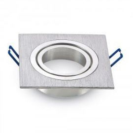 Spot encastrable rond aluminium 90mm