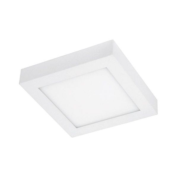 Plafonnier LED 15W carré 6000K