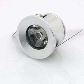 Mini spot LED encastrable 1W