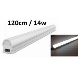 Tube LED T5 120cm avec support 14W