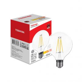 Toshiba LED filament G95 E27 5W Dimmable